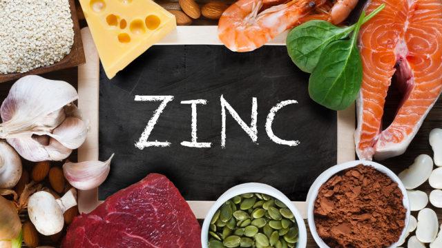 Zinc component